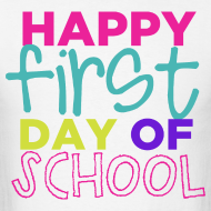 Design ~ Happy First Day of School | Bright | Men's Classic