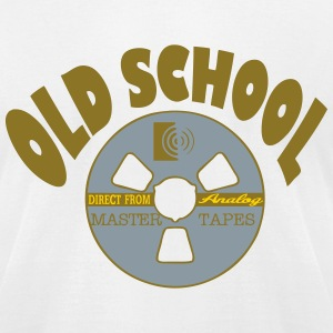 old tape T-Shirts - Men's T-Shirt by American Apparel