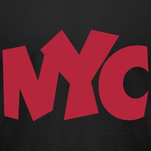 NYC T-Shirt (Men/Red) - Men's T-Shirt by American Apparel
