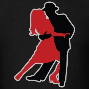 Dancers - Dancing - Couple - Tango - Date T-Shirts - Men's T-Shirt