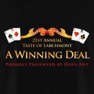 Design ~ Taste of Larchmont 2013 Men's Shirt