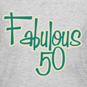 Fabulous 50th Birthday - Women's Long Sleeve Jersey T-Shirt