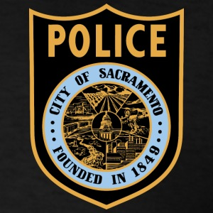 Sacramento Police Patch Shirt - Men's T-Shirt