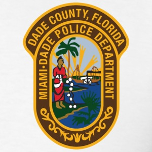 Miami Dade Police - Men's T-Shirt