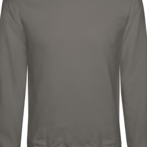 STUCK Grey Fox (front/back) - Crewneck Sweatshirt