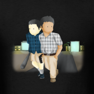 Design ~ Men's Larry and Frank T-Shirt