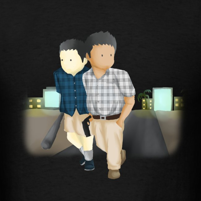Men's Larry and Frank T-Shirt