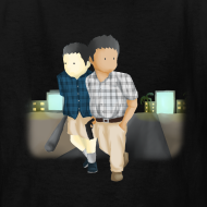 Design ~ Kid's Larry and Frank T-Shirt