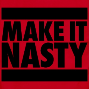 Make It Nasty Zip Hoodies/Jackets - Unisex Fleece Zip Hoodie by American Apparel
