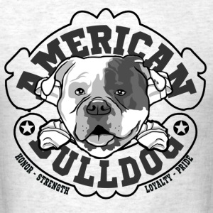 american bulldog - Men's T-Shirt