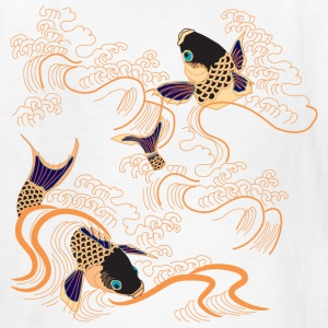 Koi Fish - Japan - Japanese - Tattoo - Art Kids' Shirts - Kids' T-Shirt