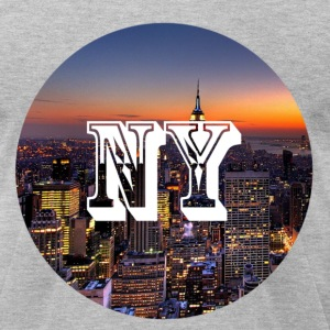 New York - Men's T-Shirt by American Apparel