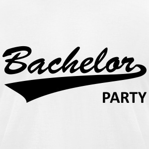bachelor party, bachelor, parting, bachelors T-Shirts - Men's T-Shirt by American Apparel