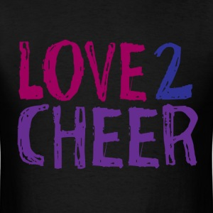 Love 2 Cheer - Men's T-Shirt