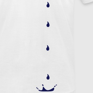 Drops, water drop, rain drop, drip, trickle,liquid T-Shirts - Men's T-Shirt by American Apparel