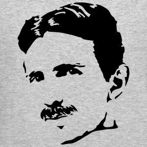 Nikola Tesla Long Sleeve Shirts - Crewneck Sweatshirt