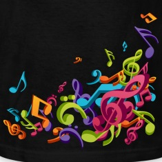 Music - Musician - Band - Music Notes - Musical Kids' Shirts