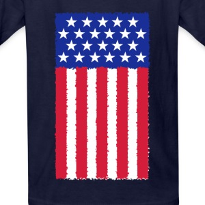 United States flag Kids' Shirts - Kids' T-Shirt