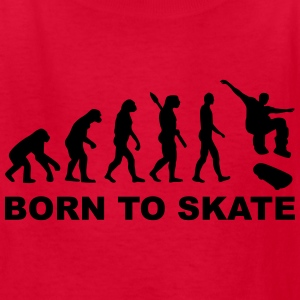 Evolution Skateboard Kids' Shirts - Kids' T-Shirt