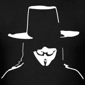 V for Vendetta T-Shirts - Men's T-Shirt