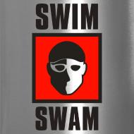 Design ~ SwimSwam Square Travel Mug