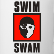 Design ~ SwimSwam Square Coffee Mug