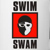 Design ~ SwimSwam Square Coffee Mug
