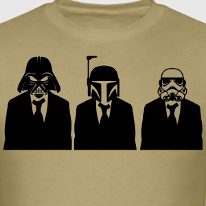 vader, fett, & stormtrooper in suits 1_ T-Shirts - Men's T-Shirt