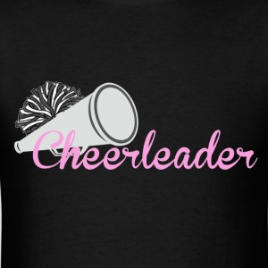 Cheerleader with megaphone - Men's T-Shirt