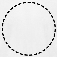 Circle, broken, broken line, approximately, gaps T-Shirts