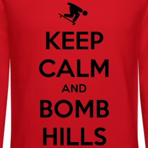 Keep Calm and Bomb Hills Crewneck - Crewneck Sweatshirt
