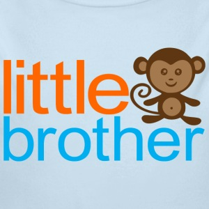 Little Brother - Monkey Baby & Toddler Shirts - Long Sleeve Baby Bodysuit