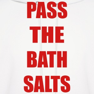 Pass The Bath Salts Funny Vector Design Hoodies - Men's Hoodie
