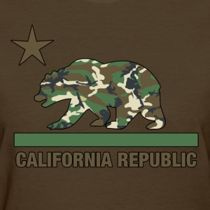 california republic camouflage - Women's T-Shirt