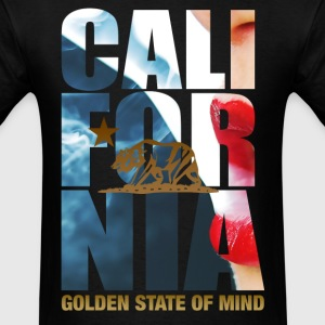 california_smoke_red - Men's T-Shirt