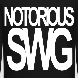 Notorious Swg Long Sleeve Shirts - Crewneck Sweatshirt