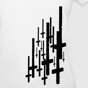 Inverted Crosses Women's T-Shirts - Women's T-Shirt