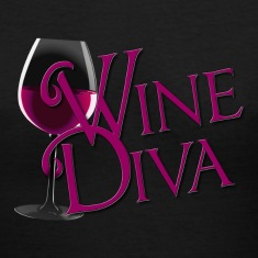 Wine Diva in burgandy