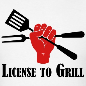License to Grill - Men's T-Shirt