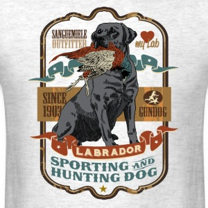 labrador_and_pheasant_b T-Shirts - Men's T-Shirt