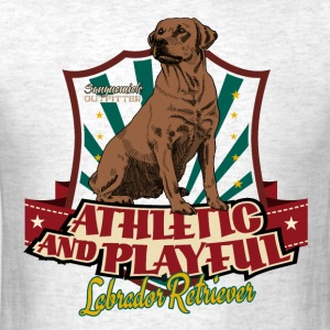 lab_athletic_playful_c T-Shirts - Men's T-Shirt