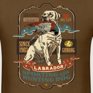 labrador_and_pheasant_y T-Shirts - Men's T-Shirt