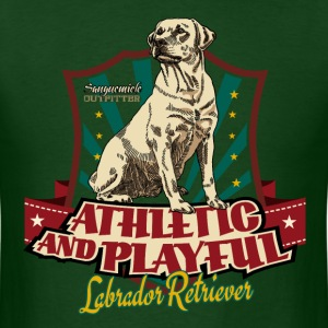 lab_athletic_playful_y T-Shirts - Men's T-Shirt