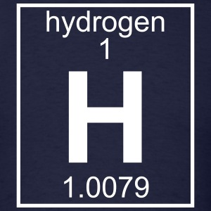 Element 001 - H (hydrogen) - Full T-Shirts - Men's T-Shirt
