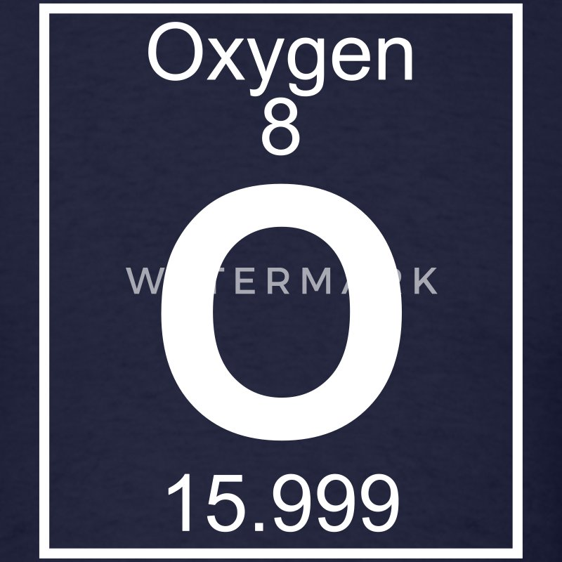 Element 8 - O (oxygen) - Full T-Shirts - Men's T-Shirt