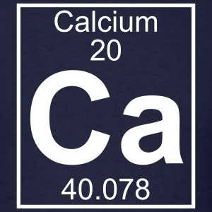Element 020 - Ca (calcium) - Full T-Shirts - Men's T-Shirt