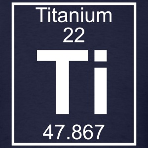 Element 022 - Ti (titanium) - Full T-Shirts - Men's T-Shirt