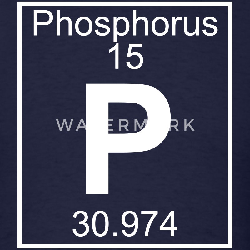 Element 015 - P (phosphorus) - Full T-Shirts - Men's T-Shirt