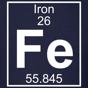 Element 026 - Fe (iron) - Full T-Shirts - Men's T-Shirt