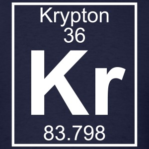 Element 036 - Kr (krypton) - Full T-Shirts - Men's T-Shirt